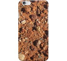 A close up of Gibber stones. Coober Pedy Opal town Nth. Sth. Aust. iPhone Case/Skin