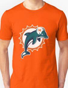 miami dolphins logo 3 T-Shirt