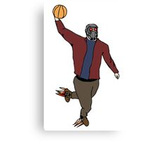 Star-Lord Wins The Intergalactic Hoops Tourney Canvas Print
