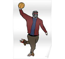 Star-Lord Wins The Intergalactic Hoops Tourney Poster