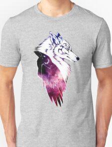 Galaxy Raven & Wolf Unisex T-Shirt