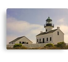 Old Point Loma Lighthouse San Diego, California Canvas Print