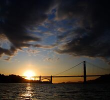 Golden Gate Cloudscape by Benjamin Padgett
