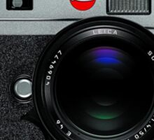 Leica M9 Grey Front Sticker