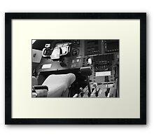 My Office 1 - Pilatus PC 12 Framed Print