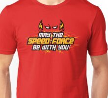 May The Speed Force Be With You - John Max Posey Design Unisex T-Shirt