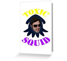 ToxicSquid For Light Backgrounds Greeting Card