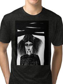 Black Window Tri-blend T-Shirt