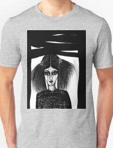Black Window Unisex T-Shirt