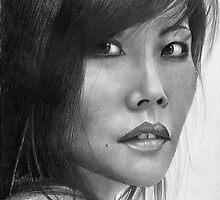 Mimi - Portrait of an Artist by David J. Vanderpool