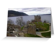 Urquhart Castle, Loch Ness, Scotland Greeting Card