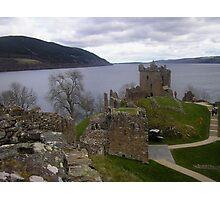 Urquhart Castle, Loch Ness, Scotland Photographic Print