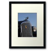 1937 Cadillac V12 Framed Print