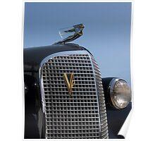 1937 Cadillac V12 Poster