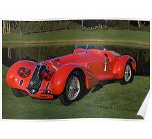1939 Alfa Romeo 8c 2900 Mille Miglia Poster