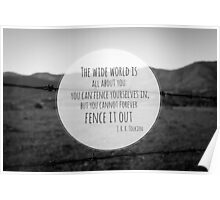 The Wide World is all about you Poster