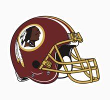 washington redskins helmet logo Kids Clothes