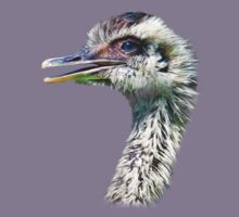 Baby Ostrich T-Shirt by Delores Knowles