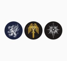 Dragon Age Trilogy Symbols by yolapeoples