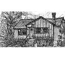 Bygone Humble Abode Photographic Print