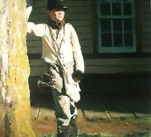 Mackinac Bugle Boy by Dan Lewis