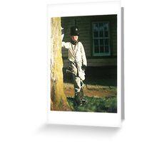 Mackinac Bugle Boy Greeting Card