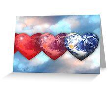 earth love Greeting Card