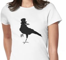 HELLO MISTER CROW Womens Fitted T-Shirt