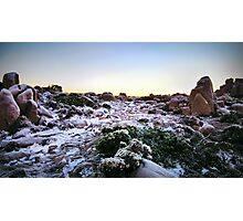 Frozen Plateau Photographic Print