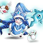 Lulu support - League of Legends by bastetsama
