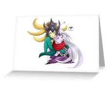 Nami and Varus - League of legends Greeting Card