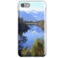 New Zealand: Lake Matheson iPhone Case/Skin