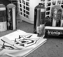 Graffiti work 1 by Josue Martinez