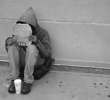 Even the homeless by Josue Martinez