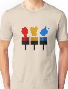Paintbrush TShirt Unisex T-Shirt