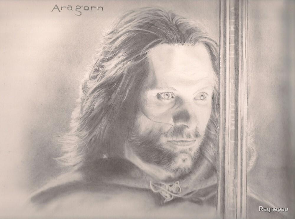Aragorn Lord of the RIngs by Raynepau
