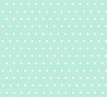 Polka dots mint by LINA Design