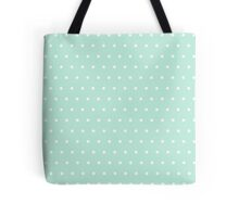 Polka dots mint Tote Bag