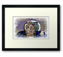 The Christ Child Is Born! Framed Print