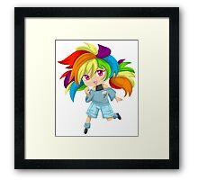 Rainbow Dash - My Little Pony Friendship is Magic Framed Print