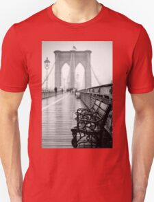 Brooklyn Bridge Bench T-Shirt