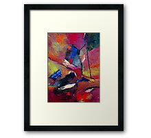 Verily Vivacious Framed Print