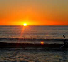 Winter Sunrise Maroochydore by gwakefield