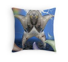 Jump!!! Throw Pillow