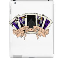 born to lose live to win iPad Case/Skin