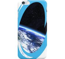 Portal 2: view from the moon iPhone Case/Skin