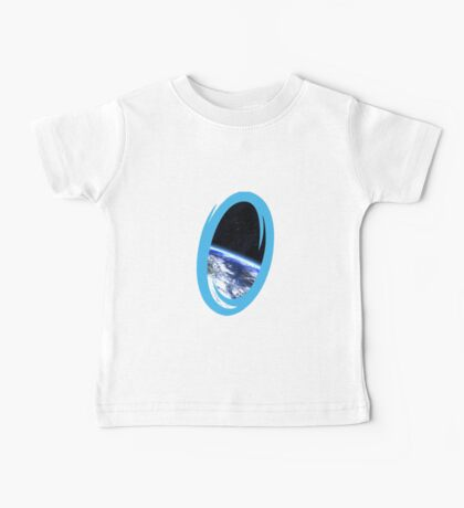 Portal 2: view from the moon Baby Tee