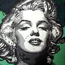 Marylin Monroe pop art by Deborah Boyle