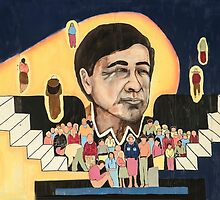 Cesar Chavez at School  by heatherfriedman