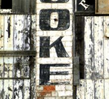 Coke sign, the old Abbottsford Convent  Sticker